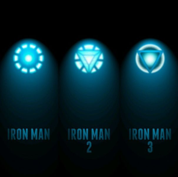 Evolution of the arc reactor YEEEAAH BABY