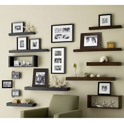 Shelving Display for Pictures and More