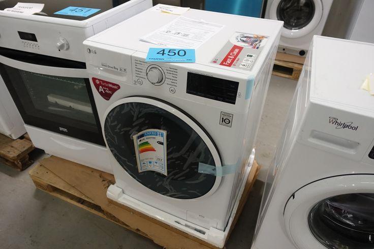 Auktionen slutter tirsdag den 15. november kl. 20.00 ved første katalognummer. Herefter lukker katalognumrene med 10 sekunders mellemrum. Bud i sidste øjeblik forlænger budtiden med 2 minutter.  Fra kataloget kan nævnes: Alle former for hvidevarer fra forhandler: Vaskemaskiner, tørretumblere, køleskabe, frysere m.m.   Eftersyn: Torsdag den 10. november fra 9-19 og tirsdag den 15. november fra 9-15.  Udlevering: Torsdag den 17. november fra 9-19 og tirsdag d. 22. november kl. 9-15.  Adresse…