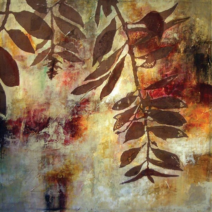 """Leaf Silhouette II by Sara Abbott 