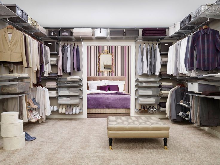 Toimiva vaatesäilytys kruunaa kodin. - Everyday luxury starts from practical, beautiful and organized walk-in closet.