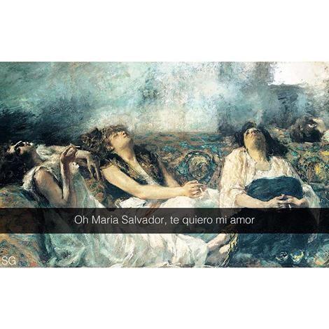 Gaetano Previati, Le fumatrici di hashish (by se i quadri potessero parlare)