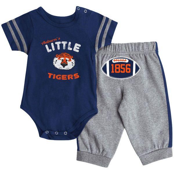 Auburn Tigers Colosseum Infant Hut Bodysuit and Pants Set - Navy - $29.99