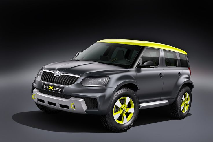 Skoda Yeti Xtreme to make debut at Worthersee