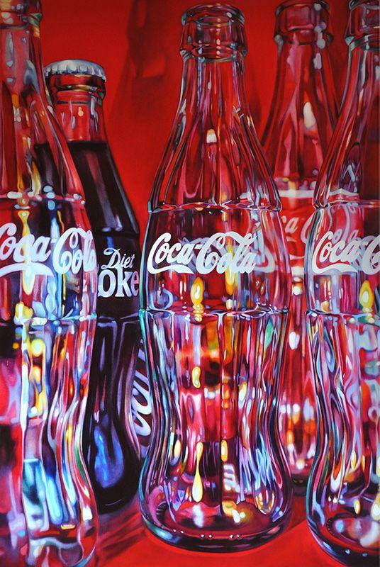 Five Coke Bottles Kate Brinkworth | Medium: Oil on Canvas