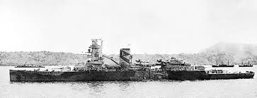 Dutch cruiser De Ruyter, flagship of the combined Australian, British, Dutch & American (ABDA) fleet defeated by the Japanese at the Battle of Java Sea in February 1942, shortly after this picture was taken. She was sunk.
