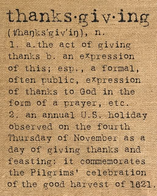 thanksgiving-would make cute tea towel or throw pillow or framed print