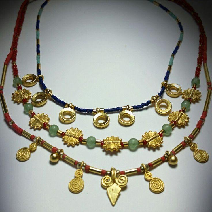Ethnic boho necklaces