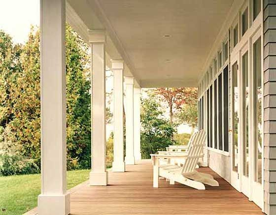 Best 25 big front porches ideas on pinterest covered for Wrap around porch columns