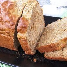 Fat-Free, Sugar-Free & Cholesterol-Free Banana Bread!