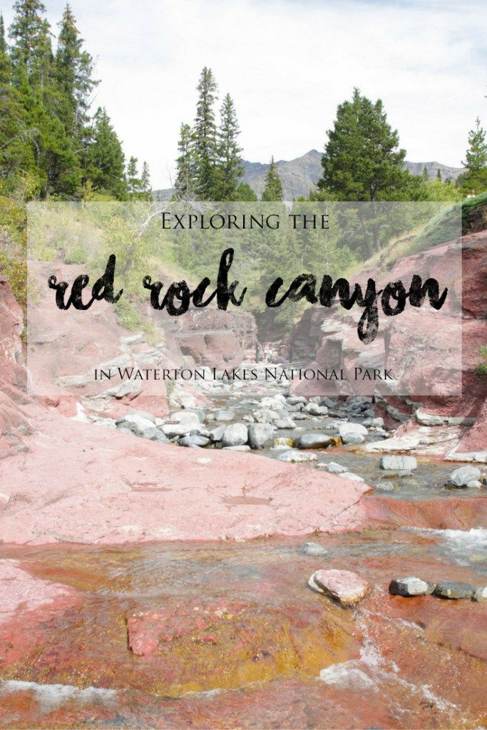 Exploring the Red Rock Canyon in Waterton Lakes National Park | brittanymthiessen.com