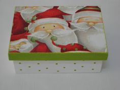 Caixinha de Sabonete Pais Natal