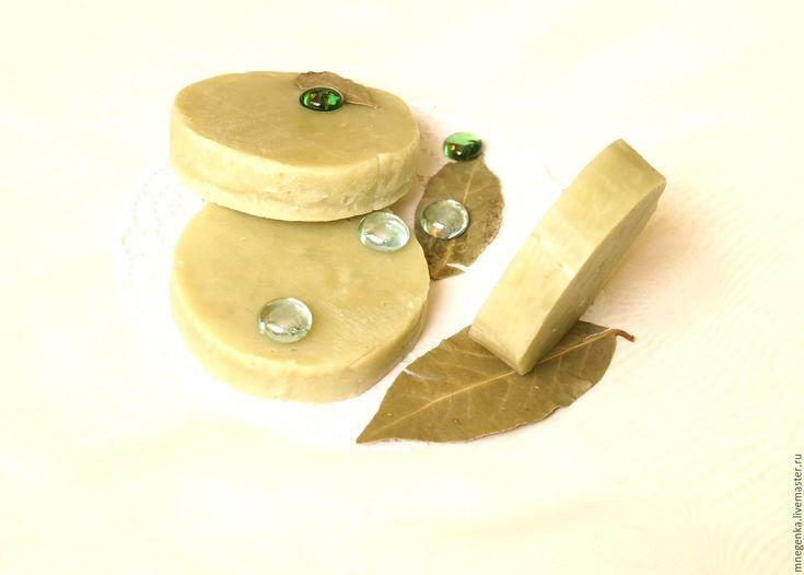 Купить Лавровое мыло с нуля По мотивам Алеппо, натуральное мыло с нуля в интернет магазине на Ярмарке Мастеров