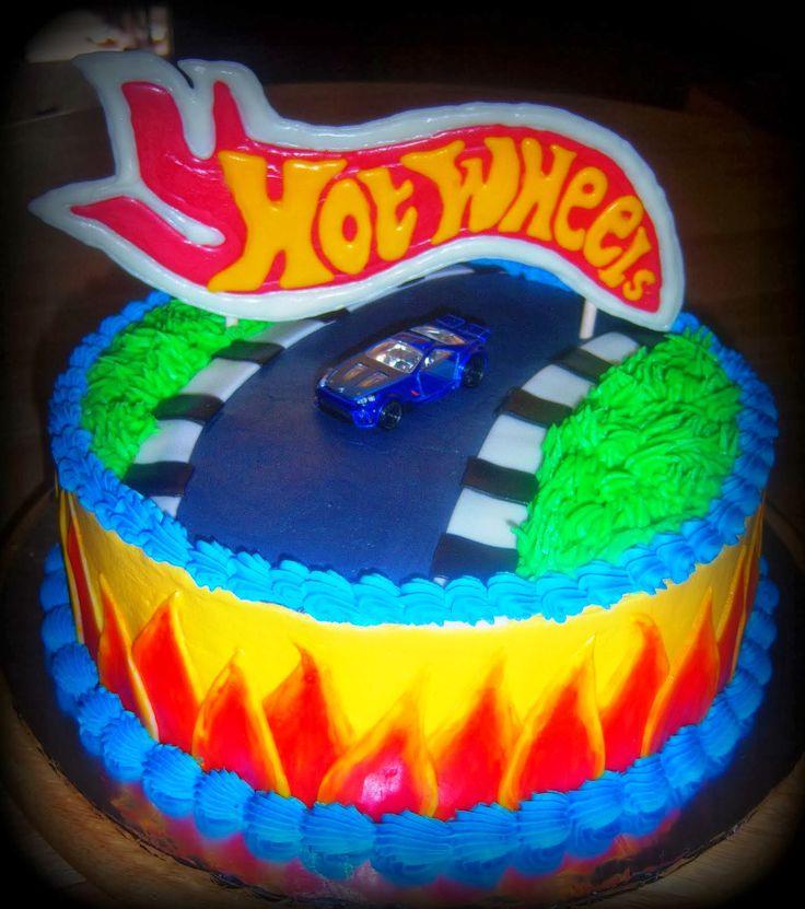 Ms de 25 ideas increbles sobre Torta de hot wheels en Pinterest