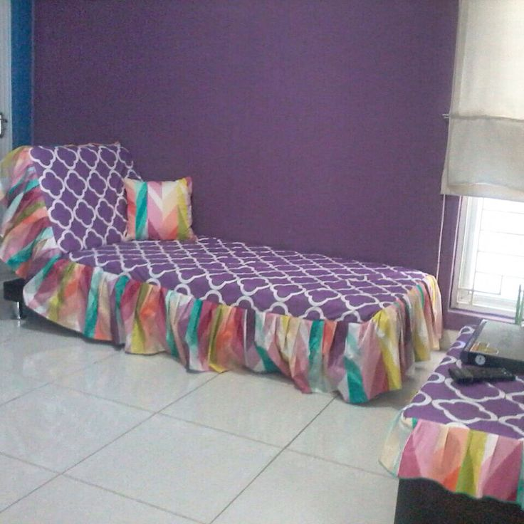 Sofa bed slip cover  Colorful