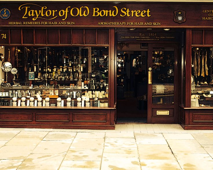 Taylor of Old Bond Street Shop in London