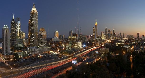 Atlanta stretching to the horizon  #city #atlanta #stretching #horizon #photography