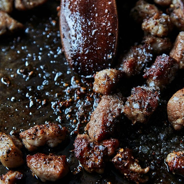 "Crispy Salt & Pepper Pork - It's a celebration of crisp and chewy textures."" But shifting expectations isn't the only thing that makes this recipe such a success. Clark packs a lot of smart moves in here, to play up best sides this wily cut of meat didn't know it had—and it all happens within about 30 minutes. Serve with steamed rice, or on its own"