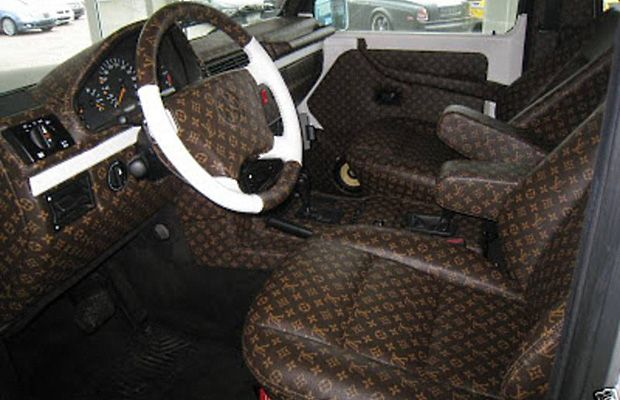 louis vuitton mercedes 300 car interior louis vuitton. Black Bedroom Furniture Sets. Home Design Ideas