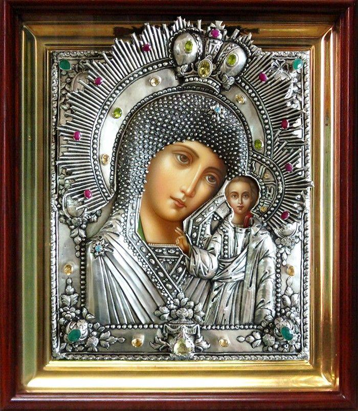 Икона Божией Матери «Казанская». Сертификат 142