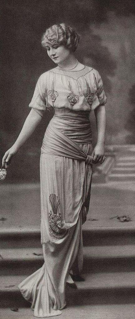 Robe du soir 1913