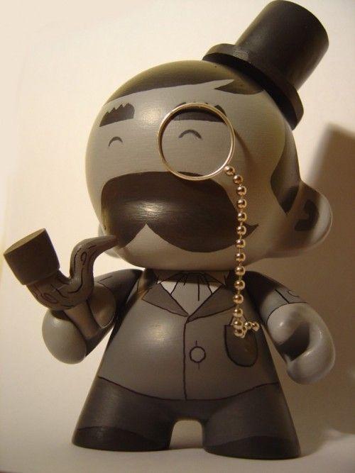Monopoly Munny: Munny Toy, Toy Art, Art Toys, Designer Toys, Vinyl Toys, Arttoys Dollspleasure, Dolls Toys, Art Toy Design