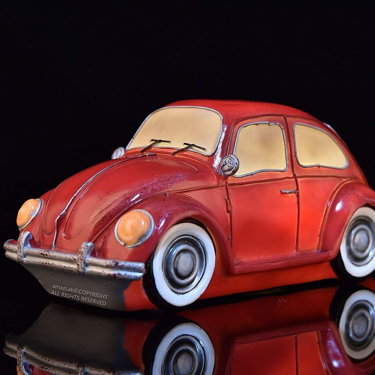 This Beautifully Craft And Hand Printed Vintage Beetle Is