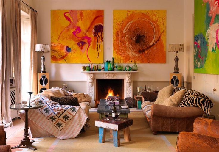 Украшаем квартиру в духе «бохо-шик» — Мой дом