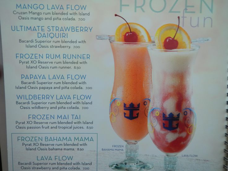 1000 Images About Cruise Cocktails On Pinterest