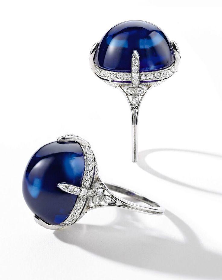 21.72 ct. Burma sapphire 1920 Van Cleef & Arpels 2.3-3.2 million