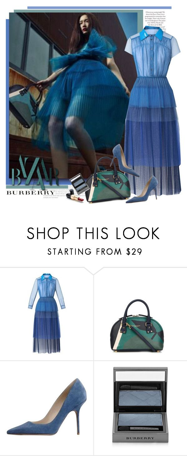 """Burberry S/S 2015"" by sella103 ❤ liked on Polyvore featuring Burberry and Ultimo"