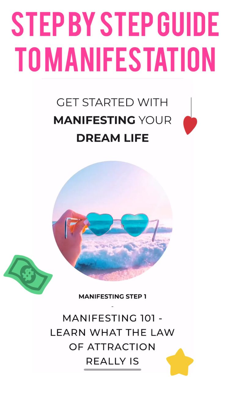 Step by Step Manifestation & LoA Guide