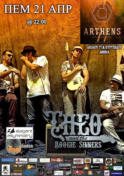 Theo & Boogie Sinners – live @ ARTHENS