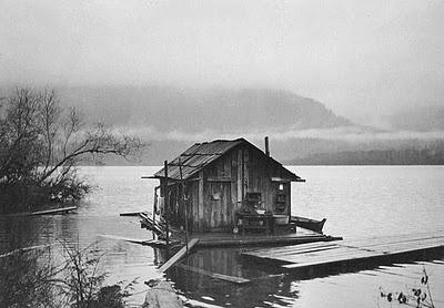 Shantyboat Living: Photos, Cabin, Shantyboat, House Boats, Homemade Houseboats, Homes, Houseboats Oregon, Barges Houseboats