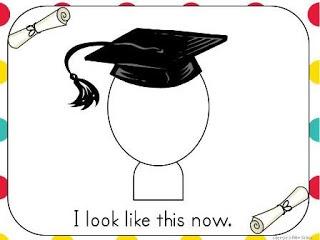 kindergarten cap and gown activity