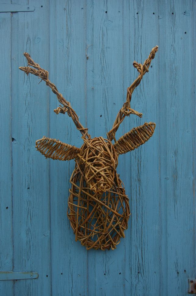 Like this - Willow sculpted stag head £40.00. Would make a good #christmaspresent.