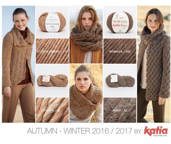 10 Tendencias de moda Otoño – Invierno 2016 / 2017 que puedes tejer tú misma con nuestras lanas y patrones | https://www.katia.com/blog/es/tendencias-moda-otono-invierno-2016-2017-lanas-patrones/