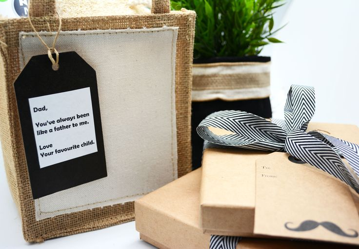 Love, favourite child. #Barama #fathersday #giftfordad #Giftwrapping #giftpackaging #packaging #gifts #wrapping #wrappingpaper #Gifttags #Jute #hessian #dadjokes