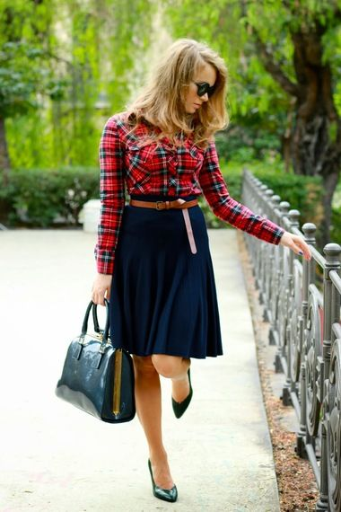 Tartan+Shirt+|+Women's+Look+|+ASOS+Fashion+Finder