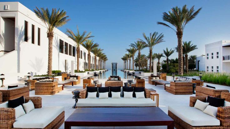 The Chedi Muscat | Luxury Hotel Oman | 5 Star Boutique Hotel | GHM Hotels - exterior terrace