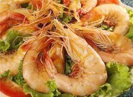 Spanish Shrimp (Spicy Salted Shrimp) :Deep-fried shrimp sprinkled with salt, pepper, green onion from Pattaya Bay Restaurant in Los Angeles #Food #Shrimp #Restaurant forked.com