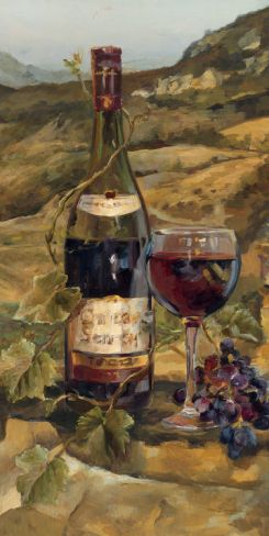 Tuscan Valley Red Print by Marilyn Hageman at Art.com