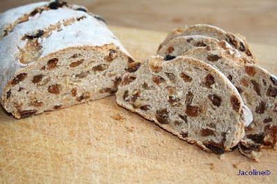Gezond leven van Jacoline: Spelt rozijnenbrood