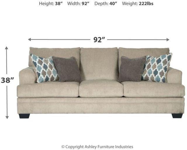 Signature Design By Ashley Dorsten Sisal Sofa 7720538 Colder S Furniture Appliances And Mattresses Furniture Sofa Ashley Furniture Industries