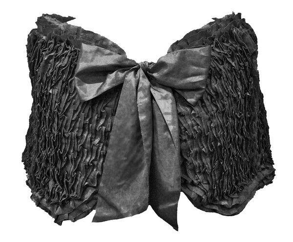 Mexican Ruffle Wrap - Black $119.95  #leethal #accessories #fashion