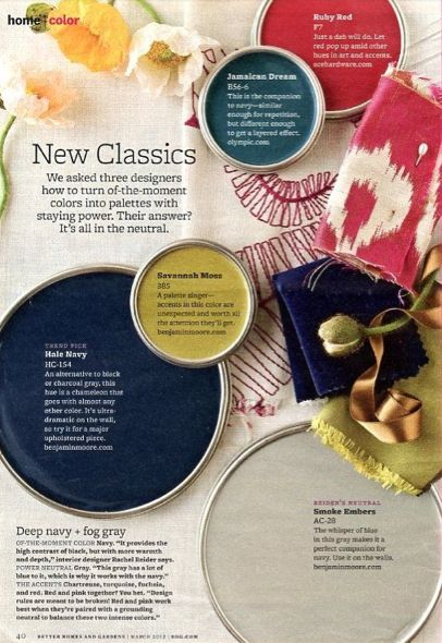 Citron and teal:  Savannah Moss by Benjamin Moore and Jamaican Dream by Olympic