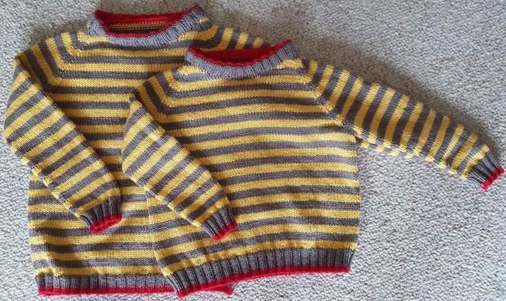 Frederik og Viggo's trøjer