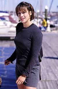 Image result for Brooke Langton The Replacements Haircut