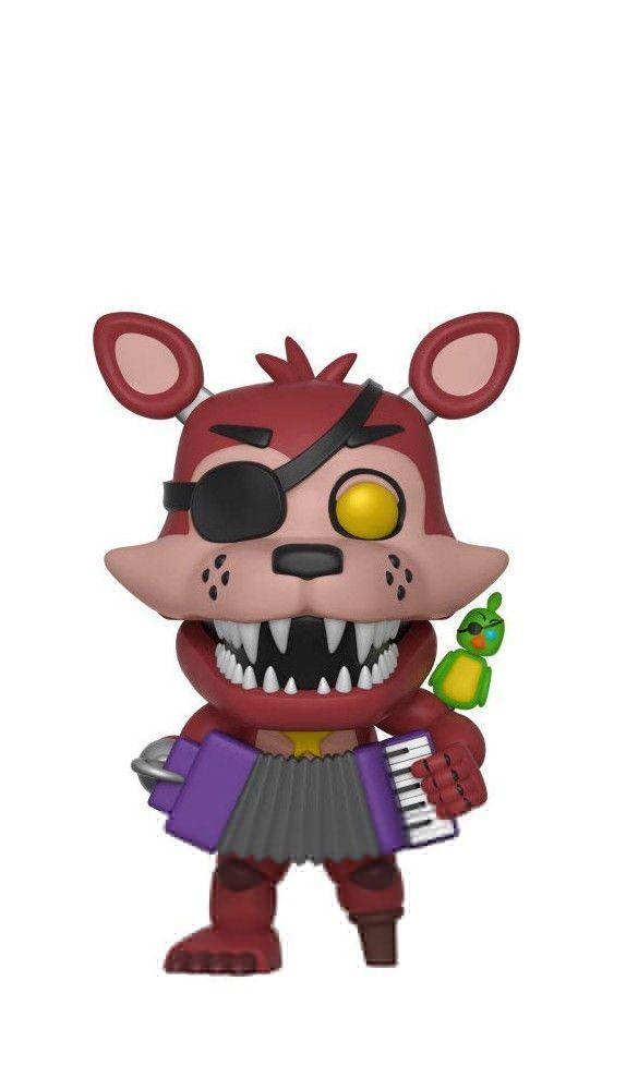 Five Nights At Freddy S Rockstar Foxy Pop Games Vinyl Figure
