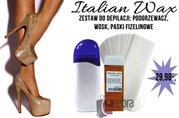 http://ezebra.pl  #wosk #pielęgnacja #depilacja #kosmetyki #ezebrapl